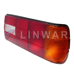 Rear Lamp Lens, with seal RH: e30 09/87-
