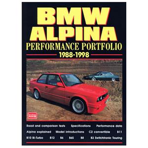 8db4dc808961 BMW Alpina Performance Portfolio 1988-1998 - Linwar BMW Spares ...